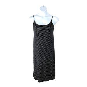 Polka Dot Adjustable Spaghetti Strap Slip Dress